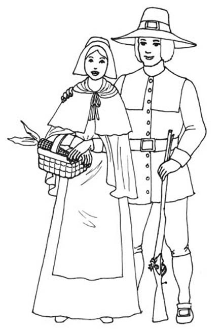 turkey and pilgrim coloring pages a picture paints a thousand words thanksgiving coloring and pages turkey pilgrim coloring