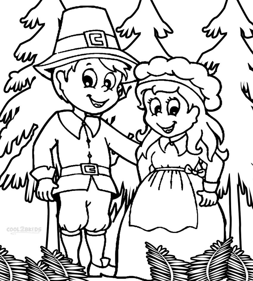 turkey and pilgrim coloring pages pilgrim boy and girl carrying pumpkin and corns coloring turkey pilgrim pages and coloring