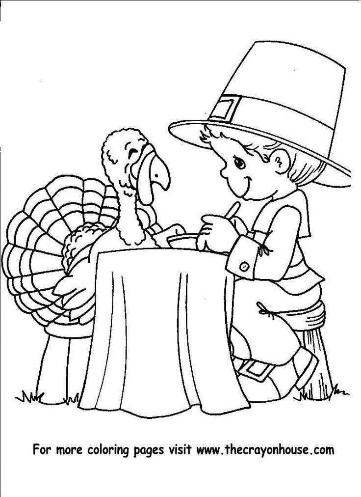 turkey and pilgrim coloring pages thanksgiving pilgrim boy to color thanksgiving coloring coloring turkey pilgrim pages and