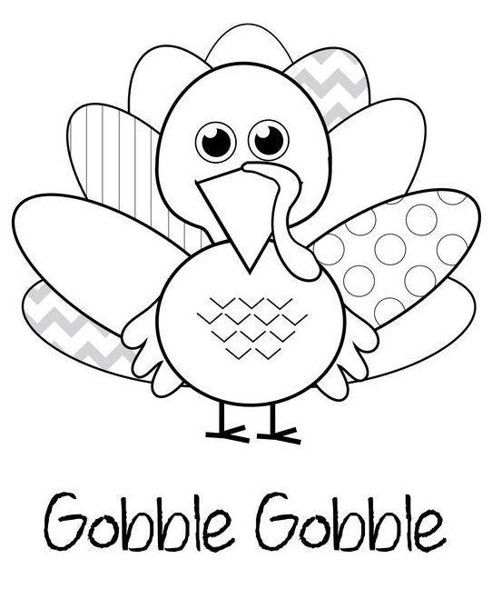 turkey color pages thanksgiving coloring pages pages color turkey