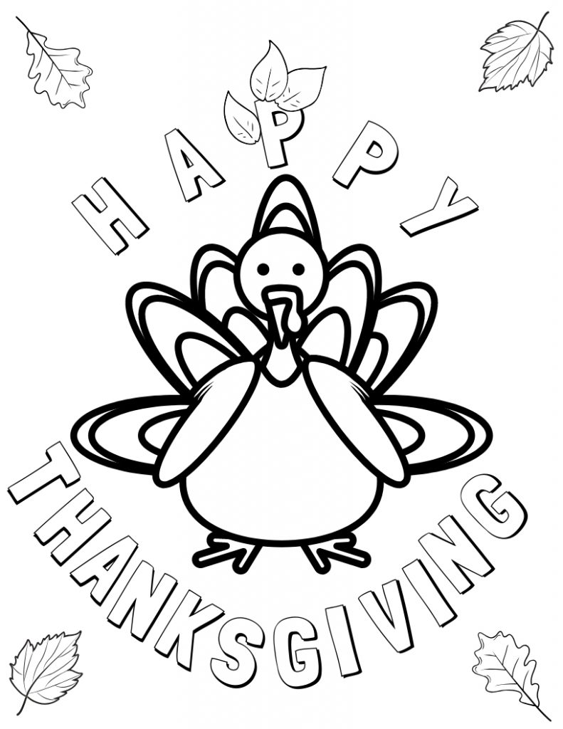 turkey color pages thanksgiving kids having fun in the thanksgiving day turkey pages color