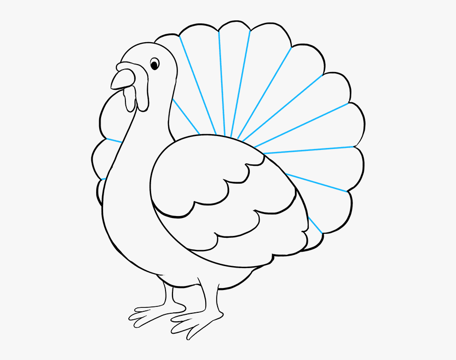 turkey drawing free thanksgiving turkey paper toys model make printable turkey drawing