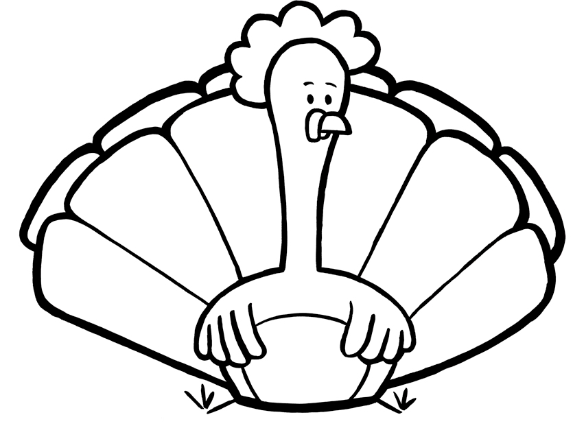 turkeys to color free printable turkey coloring pages for kids turkeys color to