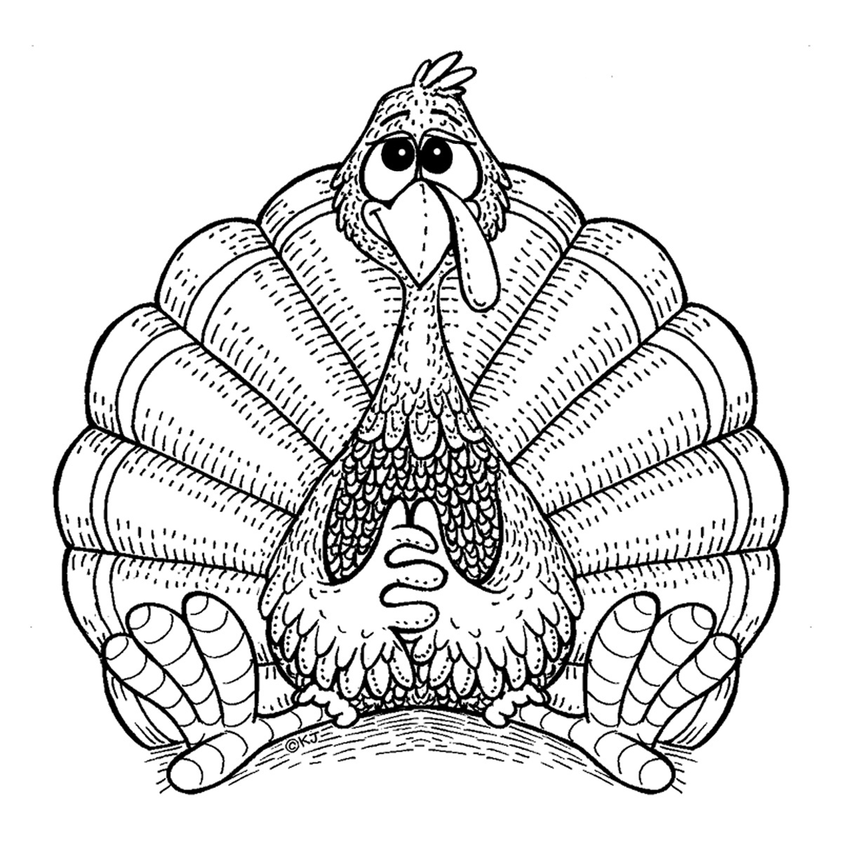 turkeys to color turkey coloring pages for kids coloring pages for kids color to turkeys