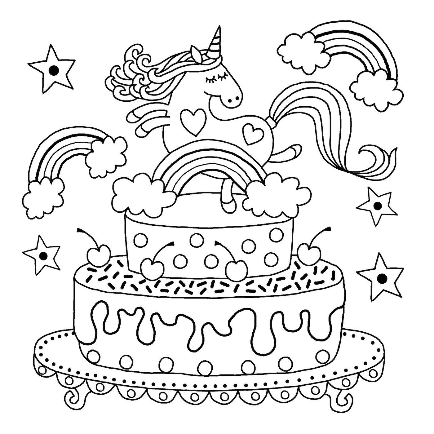 unicorn colouring picture unicorn coloring pages free download on clipartmag colouring picture unicorn