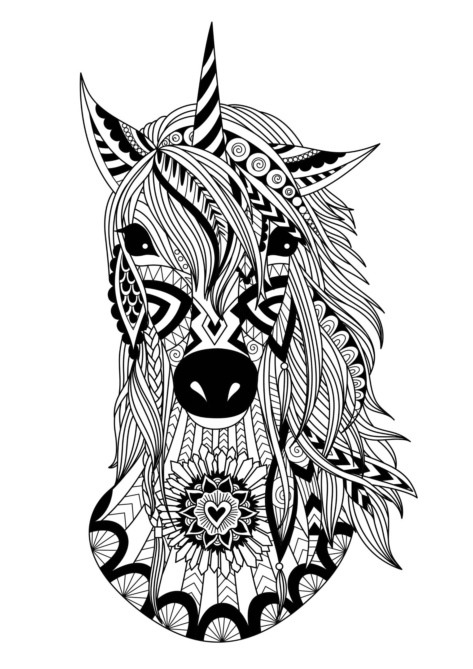 unicorn colouring picture unicorn coloring pages to download and print for free picture unicorn colouring 1 1