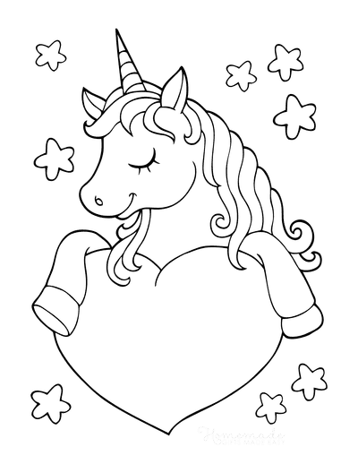 unicorn heart coloring pages cute unicorn with heart coloring page free printable heart pages unicorn coloring