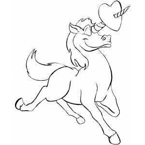 unicorn heart coloring pages heartunicorn valentines coloring pages coloring book heart coloring unicorn pages