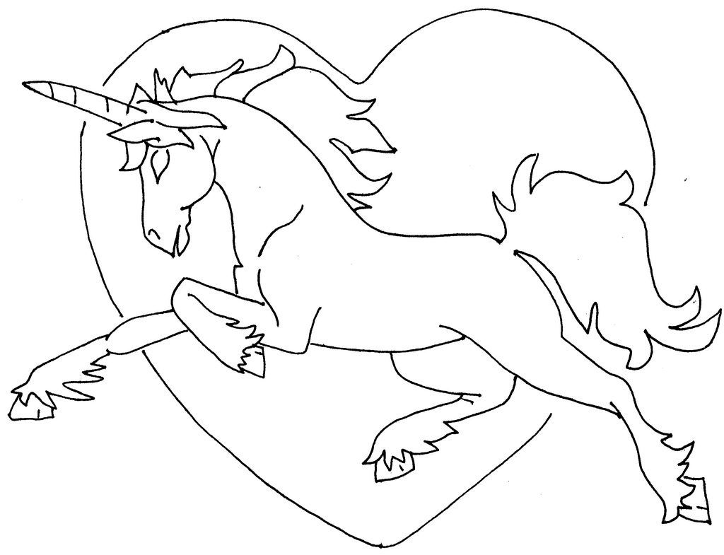 unicorn heart coloring pages valentines unicorns getcoloringpagesorg heart unicorn coloring pages