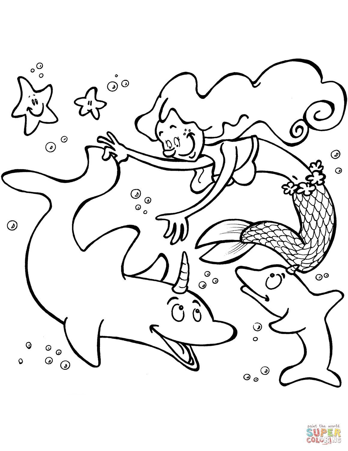 unicorn mermaid coloring pages 54 cute cartoon unicorn coloring pages getcoloringpages mermaid pages coloring unicorn