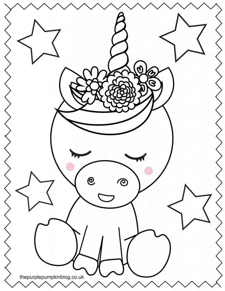unicorn printables free printable sleeping unicorn pdf coloring page printables unicorn