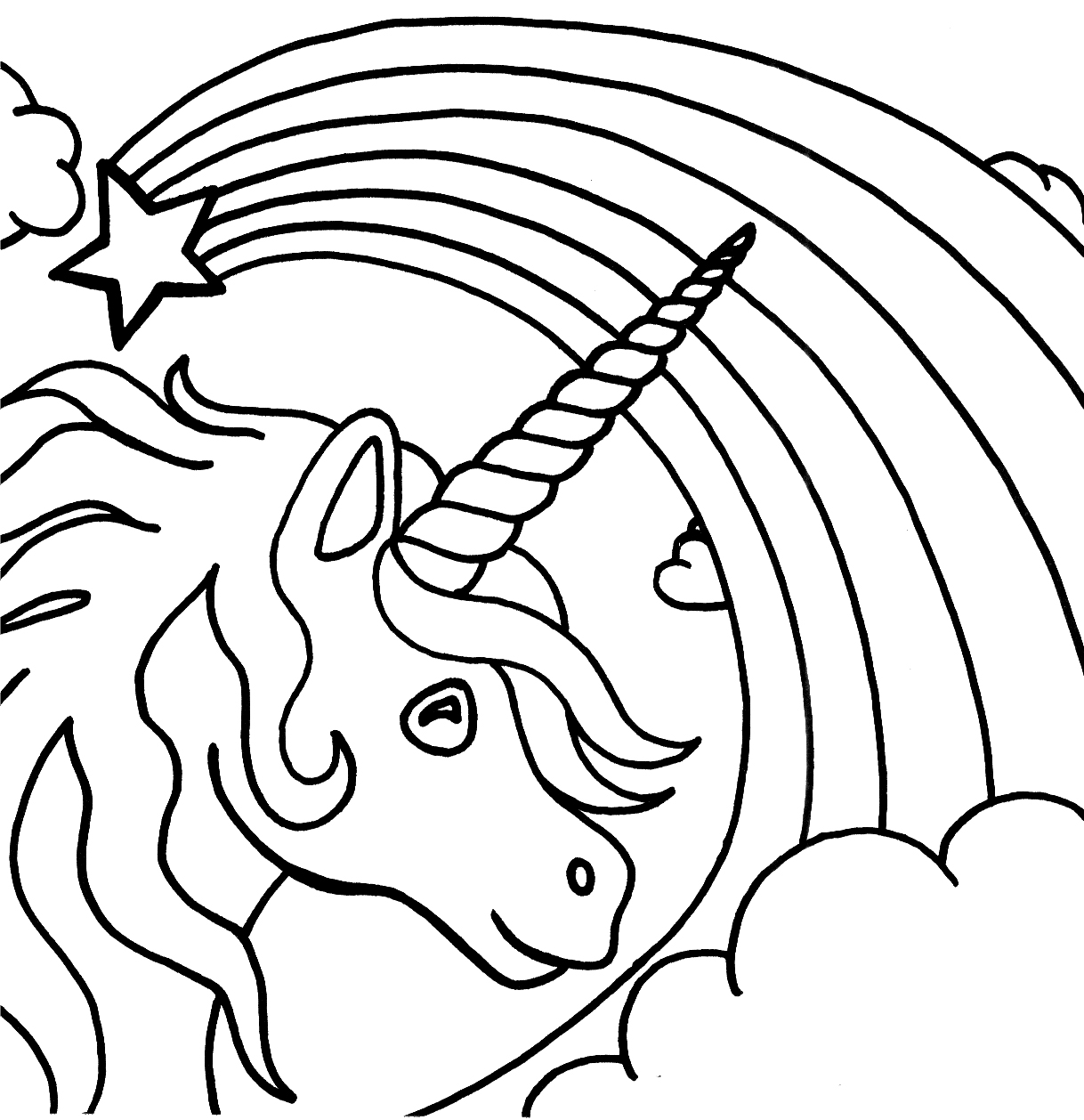 unicorn printables unicorn coloring pages free download on clipartmag unicorn printables