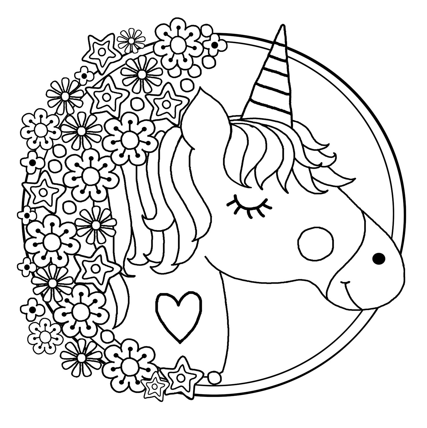 unicorn printables unicorn colouring a4 printable coloring pages free face unicorn printables