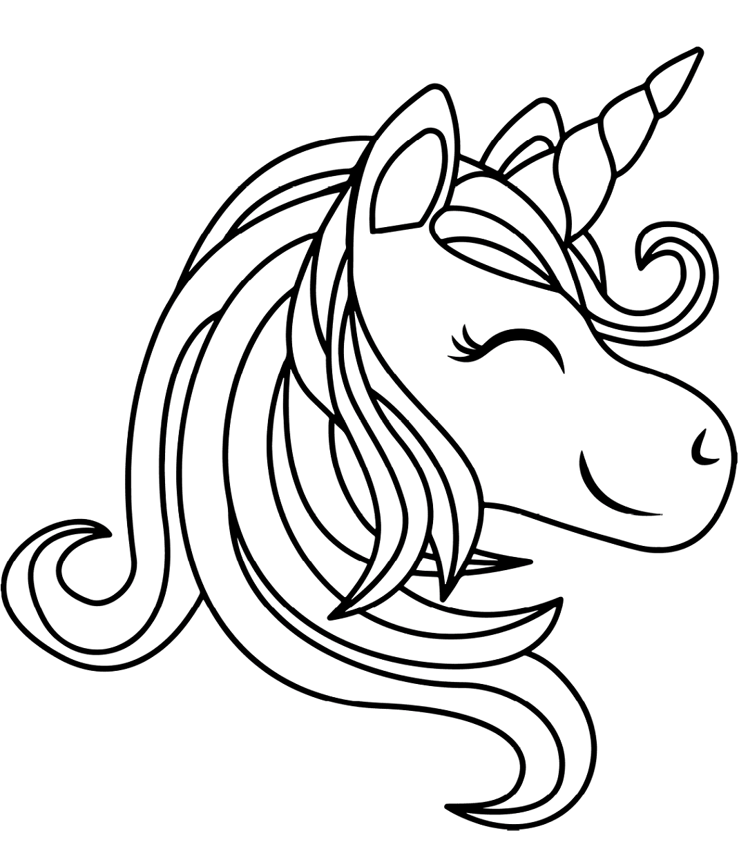 unicorn printables unicorn outline clipartioncom unicorn printables