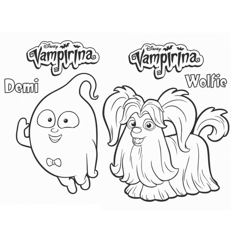 vampirina coloring pictures vampirina coloring and connect the dots coloring pages vampirina pictures coloring