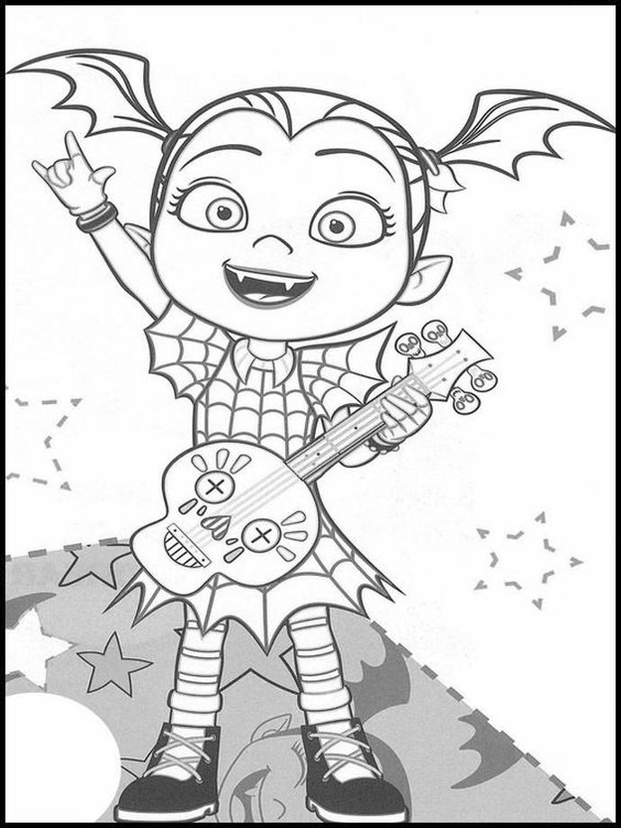 vampirina coloring pictures vampirina family coloring pages to printable coloring book vampirina pictures coloring