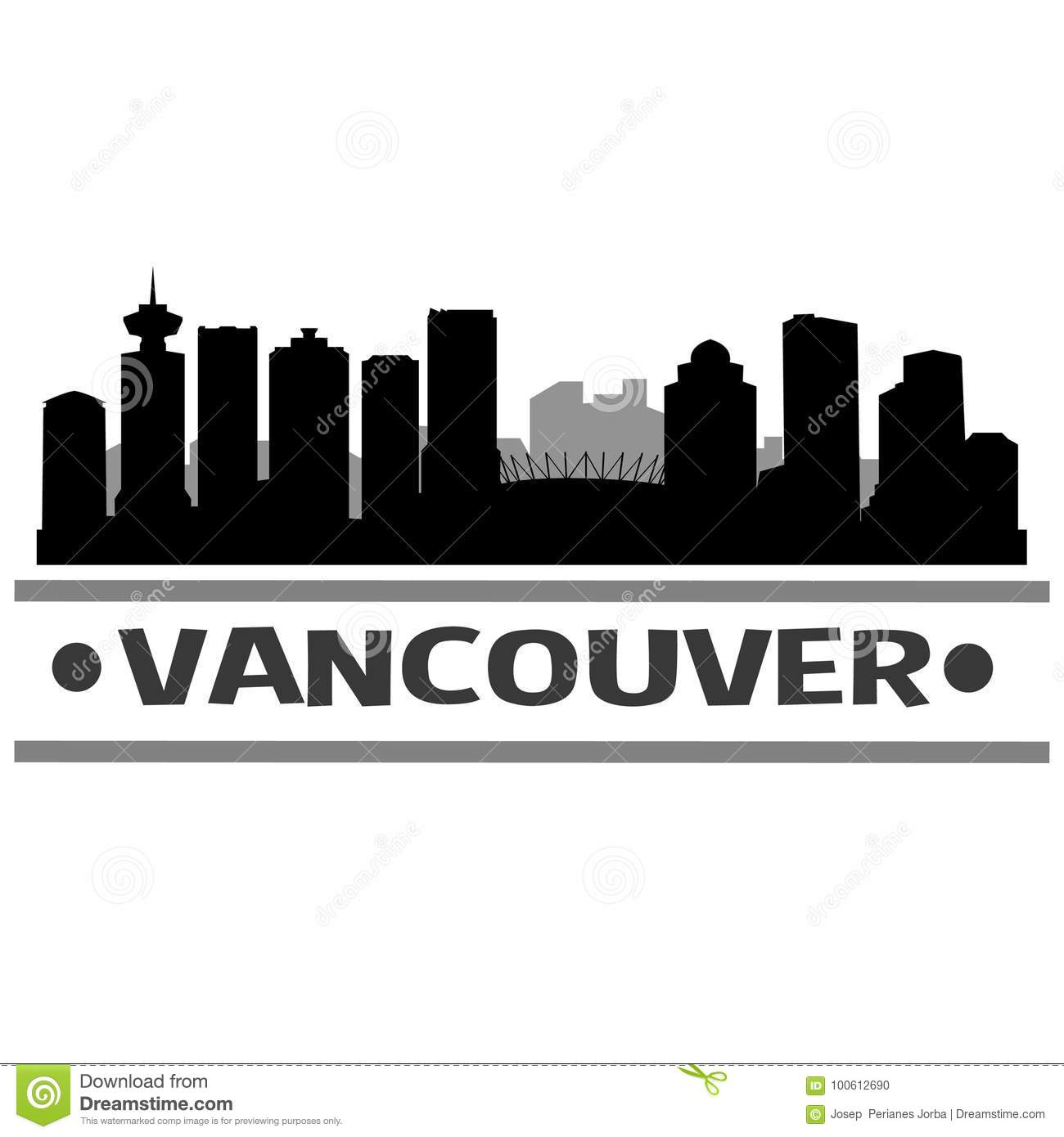 vancouver skyline drawing pen and paper vancouver skyline skyline vancouver drawing