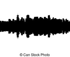 vancouver skyline drawing vancouver british columbia skyline 18 painting by aged pixel drawing vancouver skyline