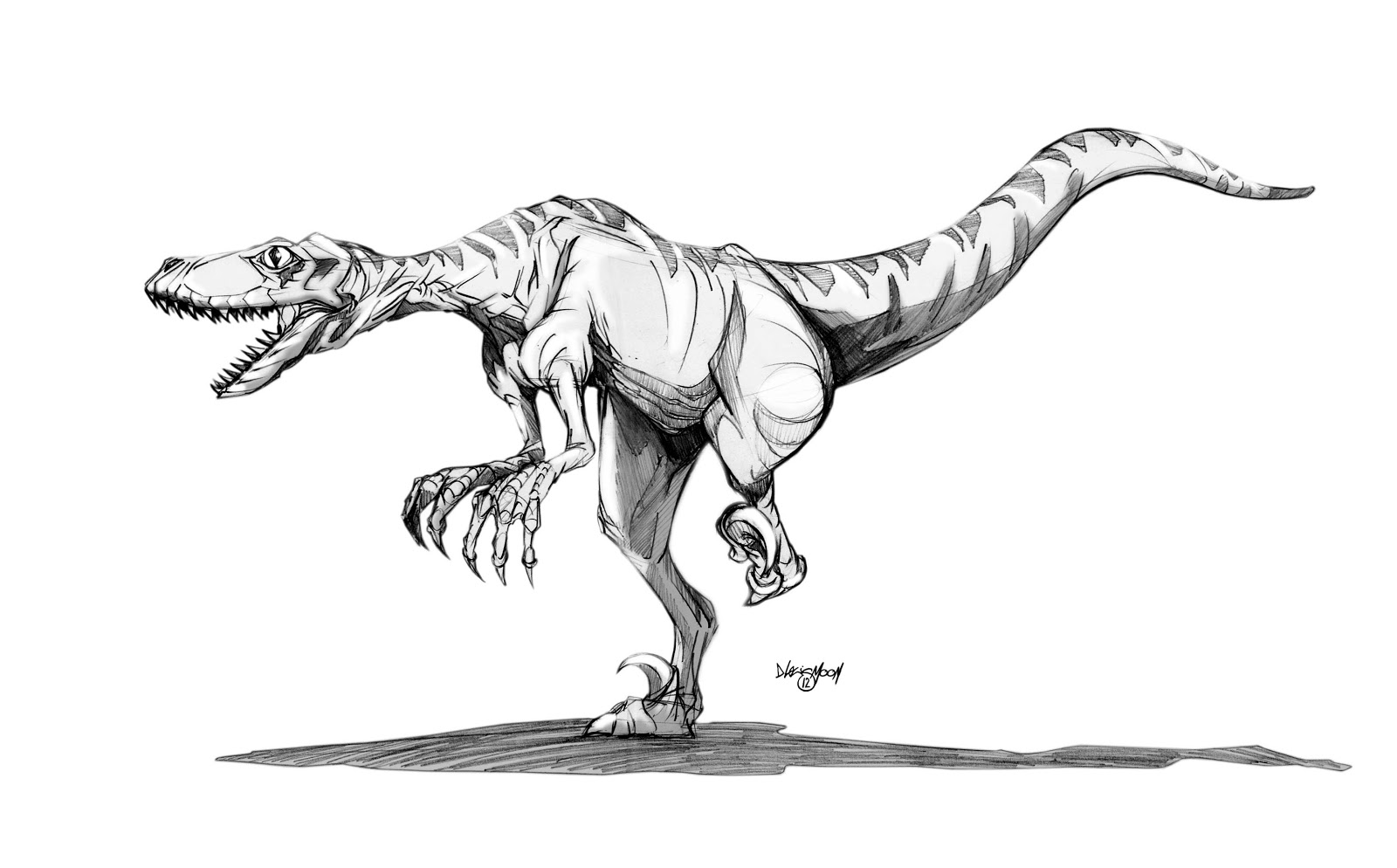 velociraptor pictures velociraptor drawing at paintingvalleycom explore pictures velociraptor
