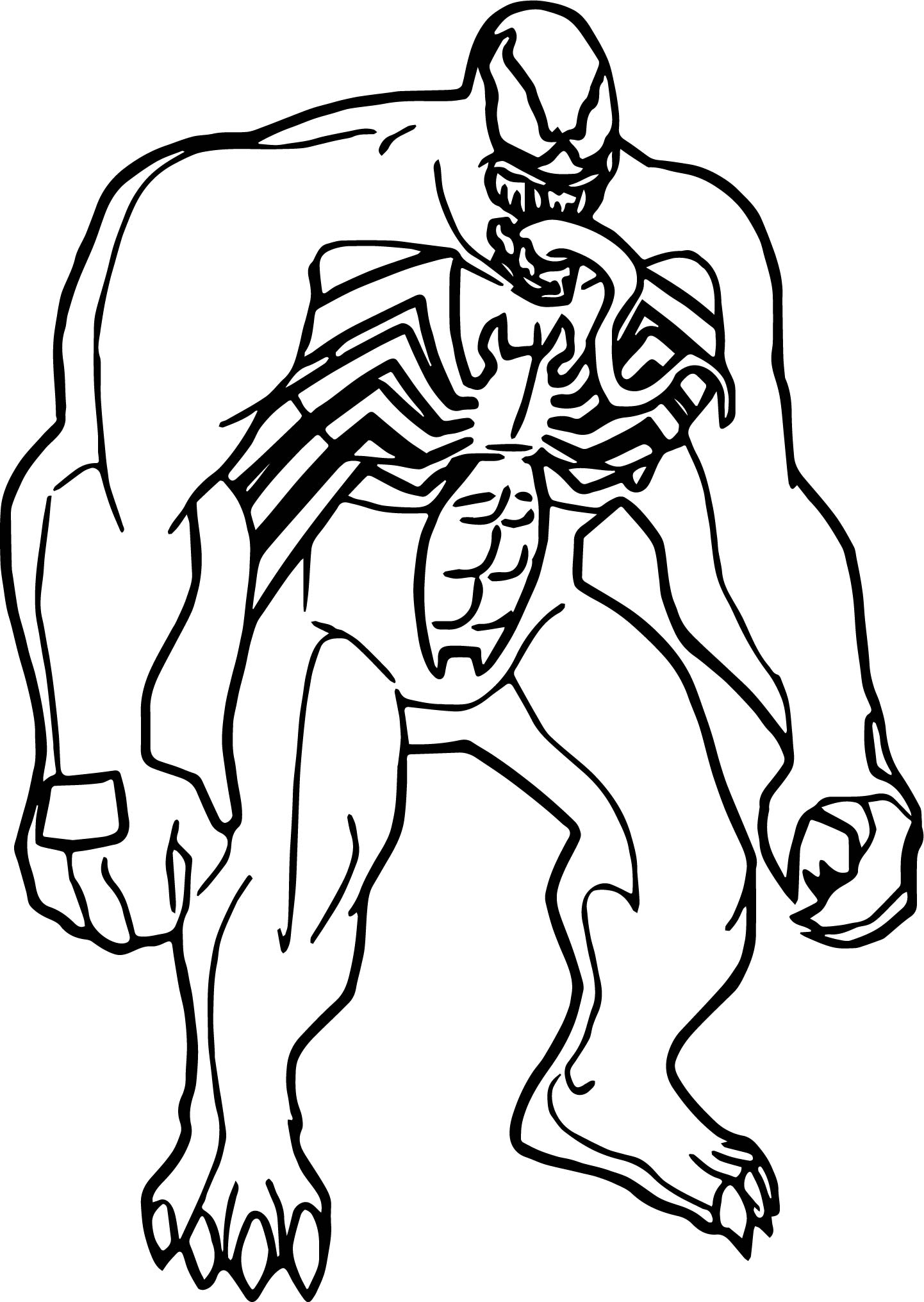 venom face coloring pages creepy face drawing at getdrawings free download coloring venom pages face