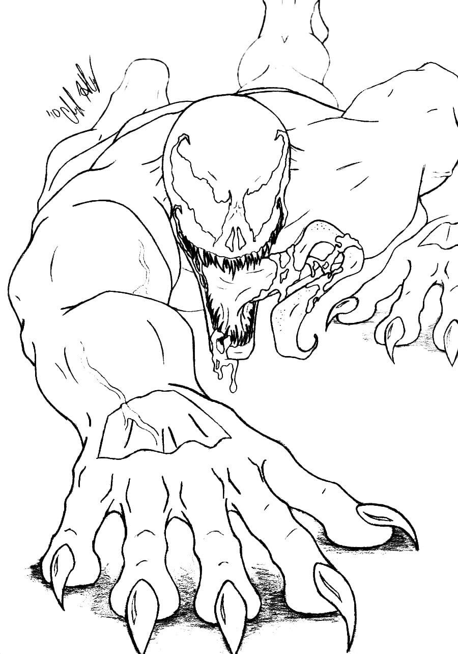 venom face coloring pages venom face drawing at getdrawingscom free for personal face coloring venom pages