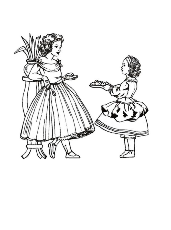 victorian pictures to colour victorian coloring pages of women39s dress colouring victorian to pictures colour