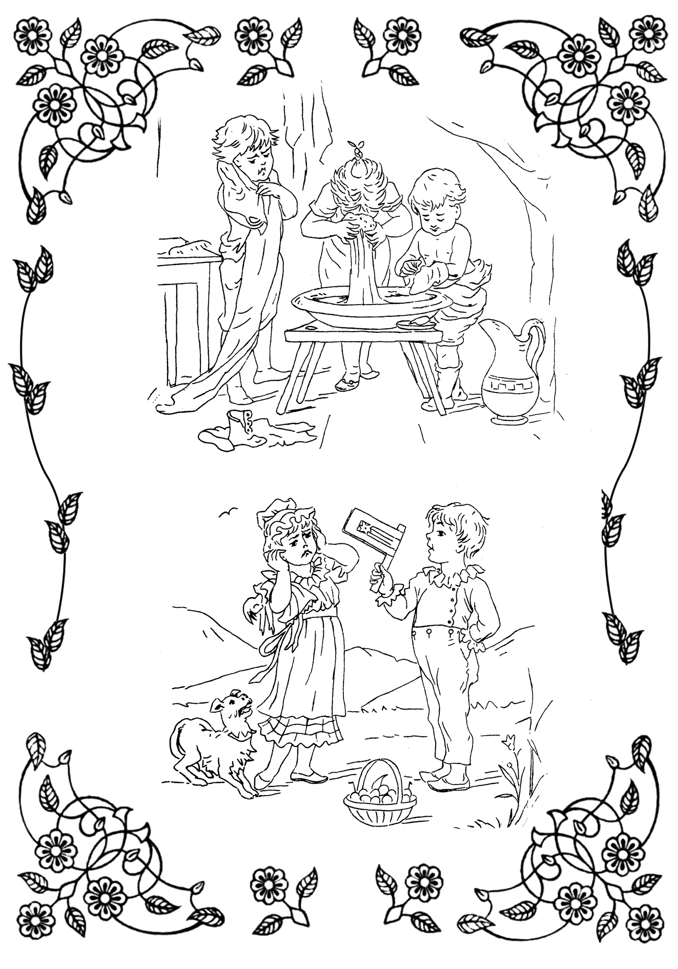 victorian pictures to colour victorian fashions coloring book dover publications to colour victorian pictures