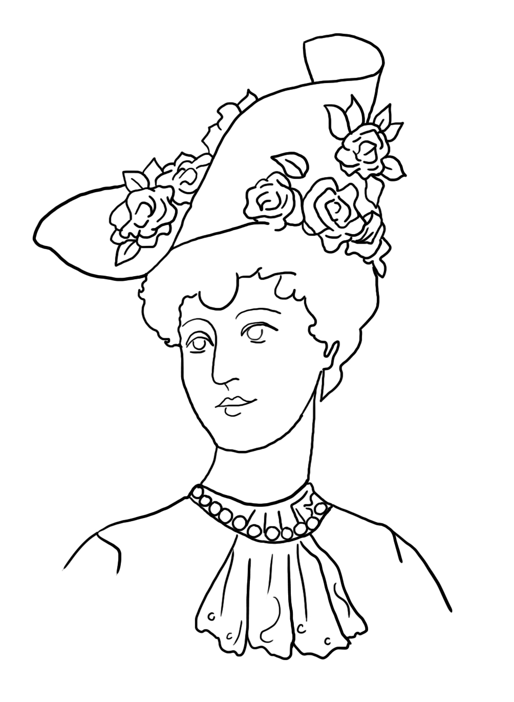 victorian pictures to colour victorian woman coloring pages free printable victorian colour victorian pictures to