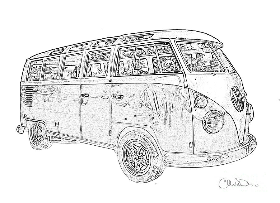 vw bus sketch how to draw a vw bus step by step drawing tutorials for sketch vw bus