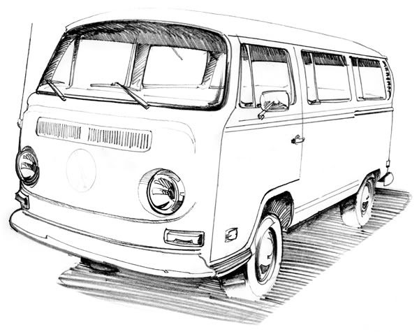 vw bus sketch image result for vw camper van cartoon sketch vw bus vw sketch vw bus