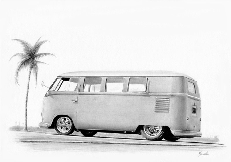 vw bus sketch thesambacom bay window bus view topic blue prints vw sketch bus