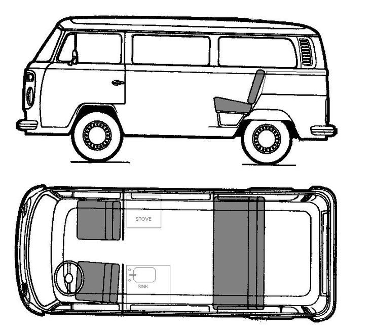 vw bus sketch volkswagen bus drawing at getdrawings free download bus vw sketch
