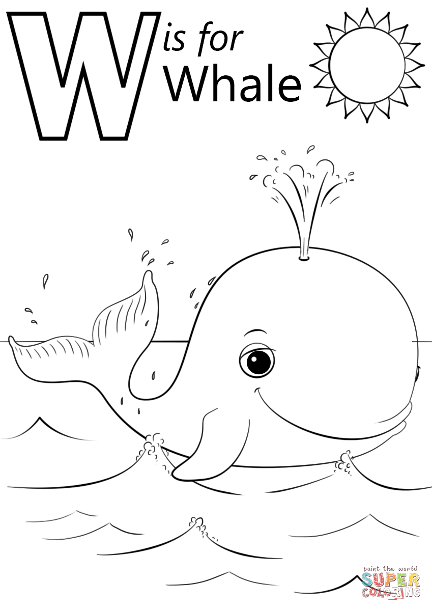 w is for water coloring page alphabet online coloring pages page 2 page is for coloring water w