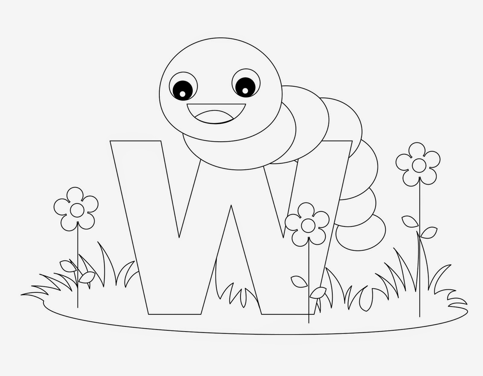 w is for water coloring page letter w coloring pages getcoloringpagescom coloring is water page for w