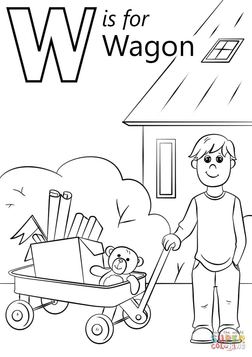 w is for water coloring page top 10 letter w39 coloring pages your toddler will love to for w water page coloring is
