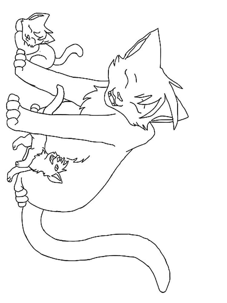 warrior cat coloring pages coloring pages of minecraft coloring pages for children coloring warrior cat pages