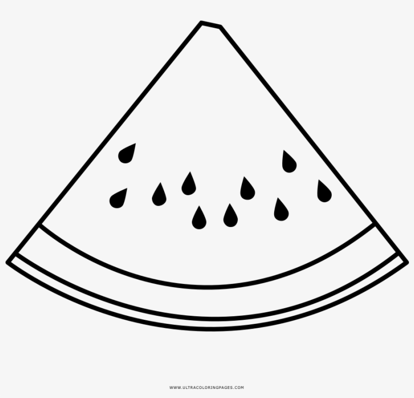 watermelon coloring image watermelon slice coloring page drawing transparent png image watermelon coloring