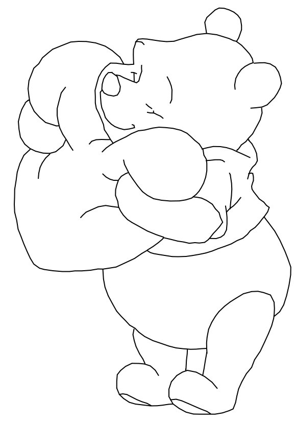 winnie the pooh drawing winnie the pooh line drawing free download on clipartmag drawing pooh the winnie