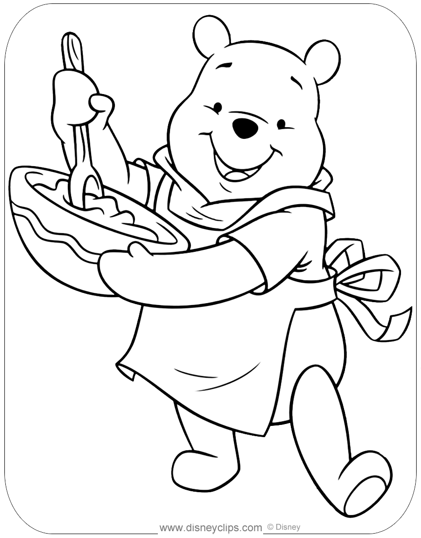 winnie the pooh pictures to color free easy to print winnie the pooh coloring pages tulamama winnie pictures color to pooh the