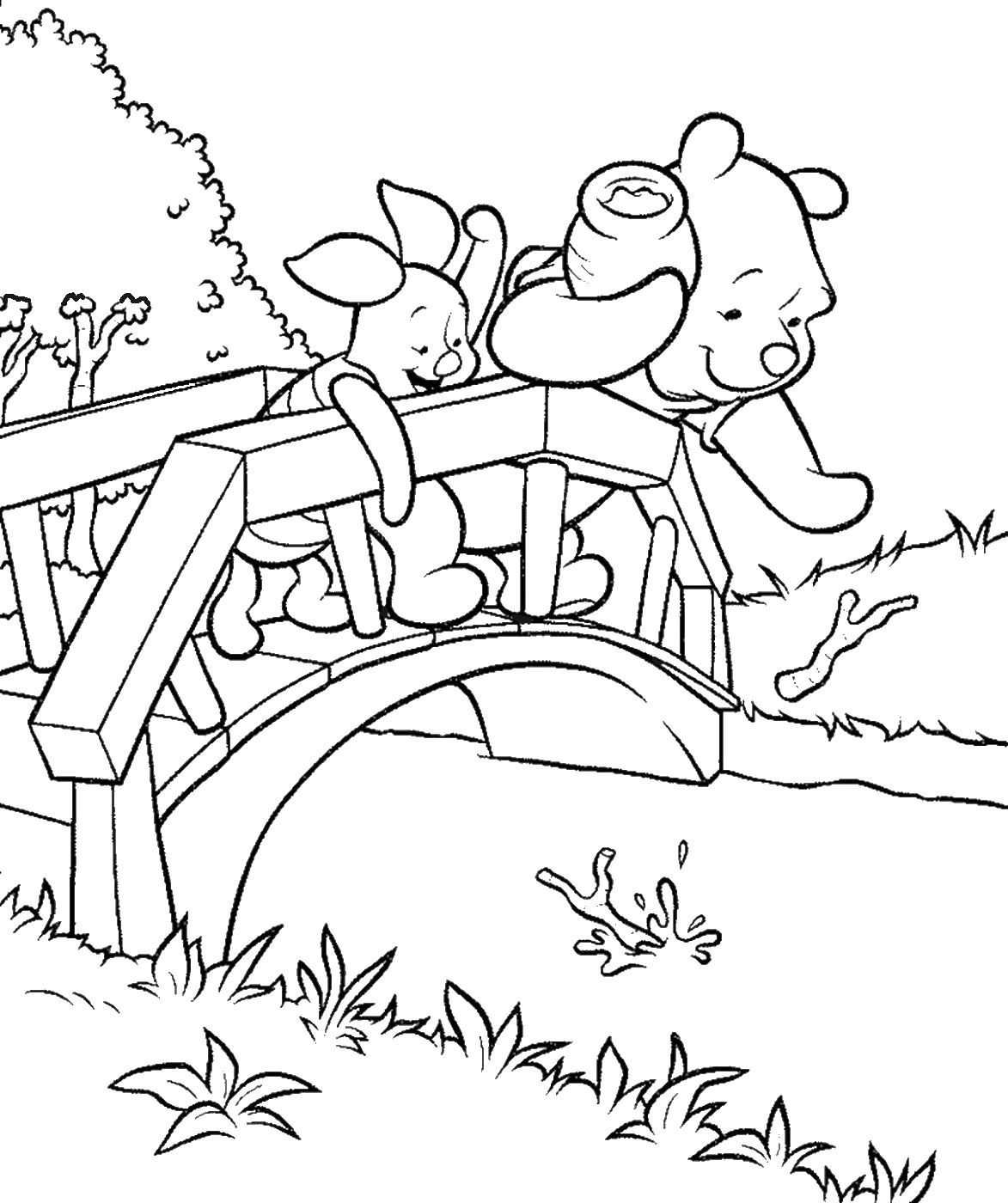 winnie the pooh pictures to color winnie the pooh friends coloring pages 4 disneyclipscom color to pictures winnie the pooh