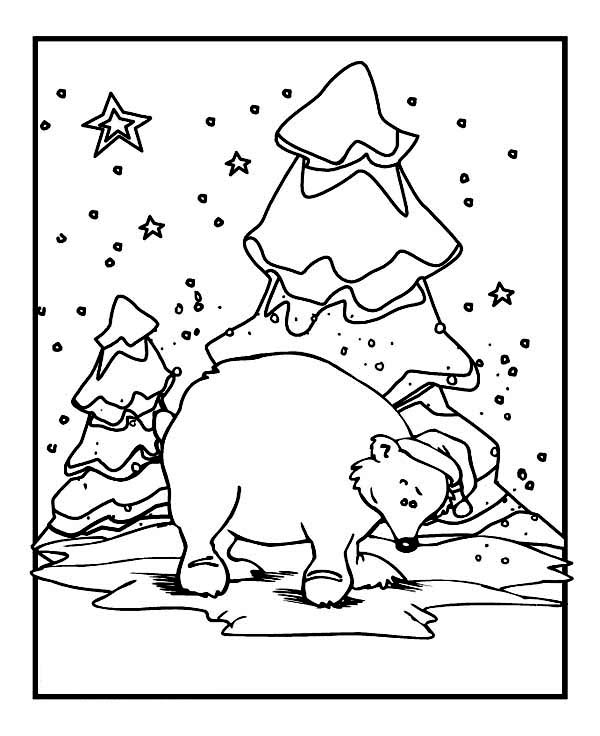 winter animal coloring sheets baby penguin skating on winter coloring page coloring animal coloring sheets winter