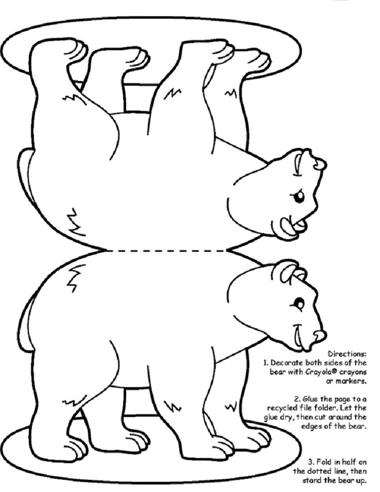 winter animal coloring sheets bear hunt coloring pages bear coloring pages coloring sheets animal winter coloring