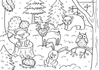 winter animal coloring sheets pin by dawn cole suddock on preschool animals that hibernate sheets coloring winter animal