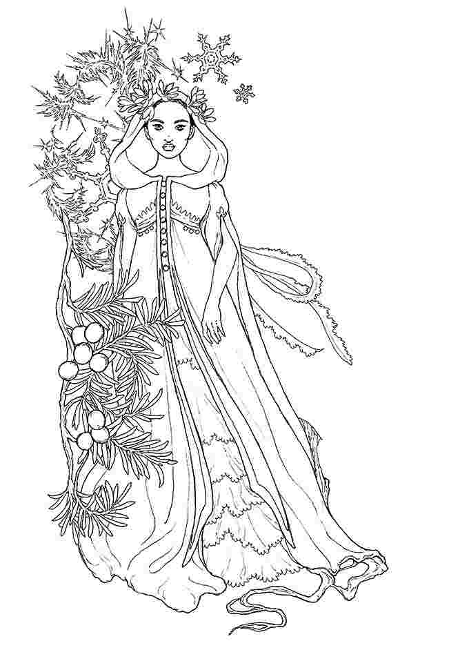 winter fairy coloring pages 54 best images about icolor quotwinterquot on pinterest fairy pages winter coloring