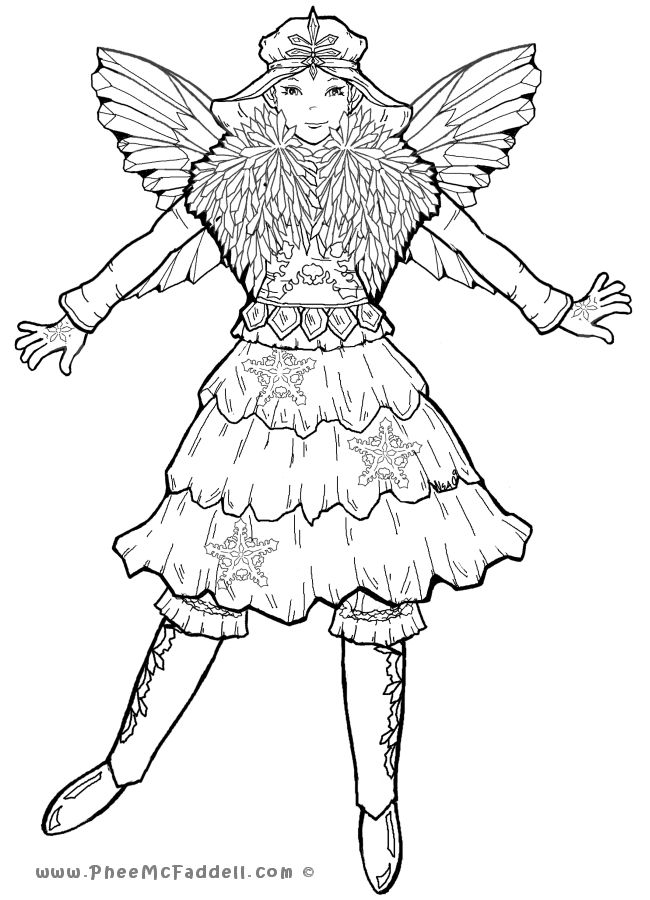 winter fairy coloring pages fairy coloring pages for adults winter pages fairy coloring