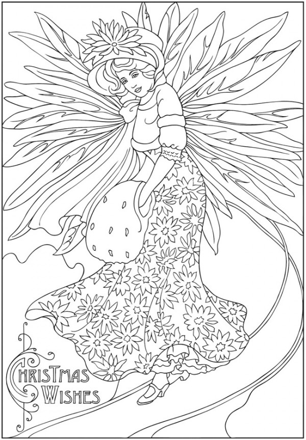 winter fairy coloring pages pin auf coloring for adulats pages coloring fairy winter