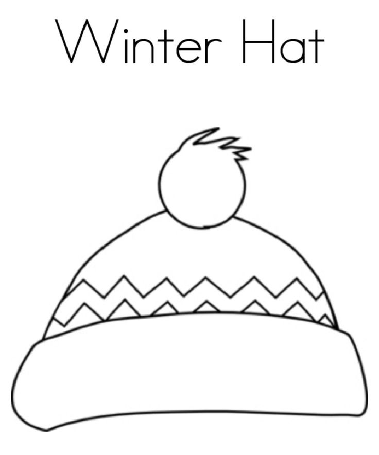 winter hat coloring page hat coloring pages colorful coloring hat pages winter coloring page hat