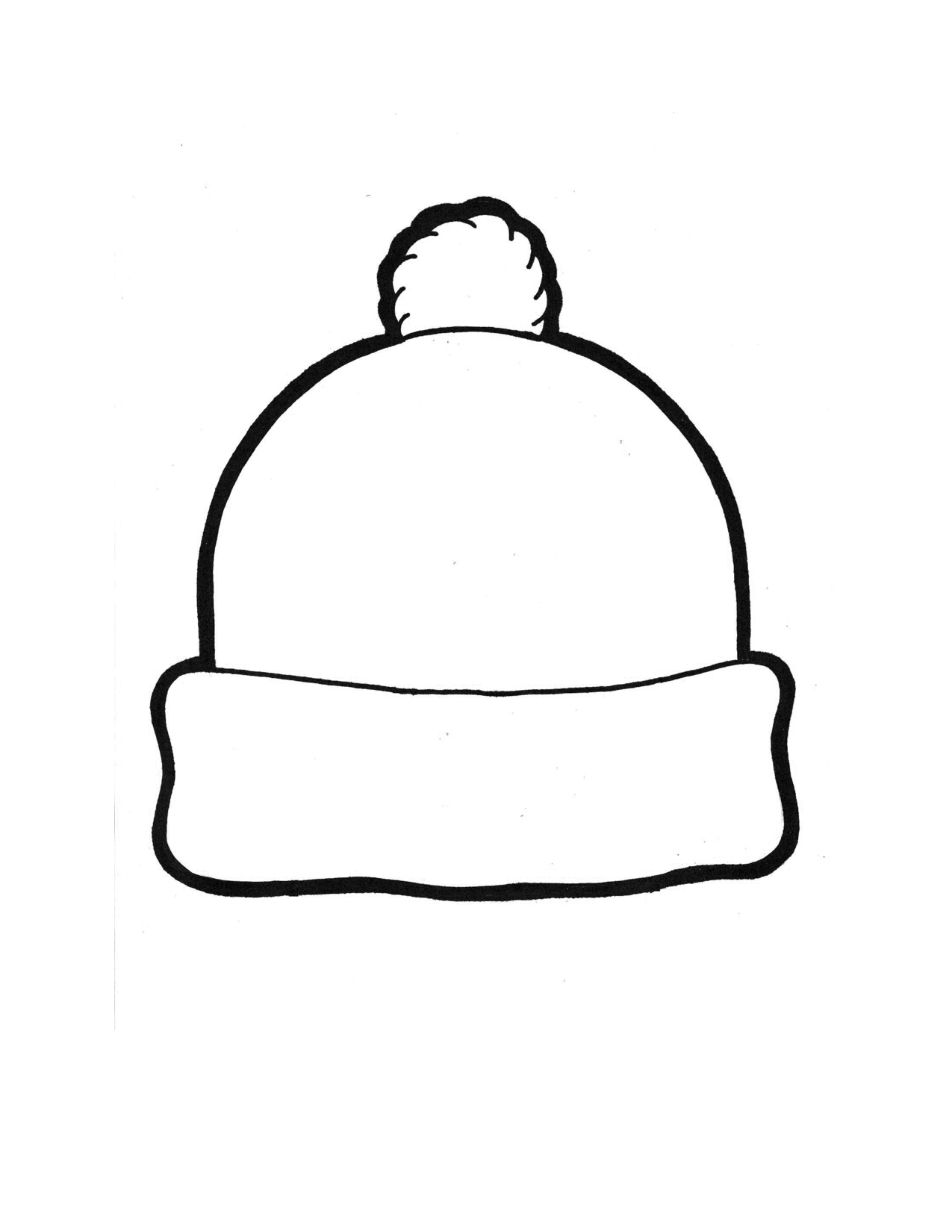 winter hat coloring page winter hat coloring page fresh winter hat picture coloring coloring hat page winter