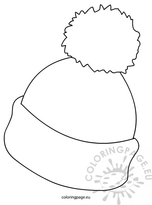 winter hat coloring page winter hat coloring page inspirational winter cartoon hat coloring page winter hat