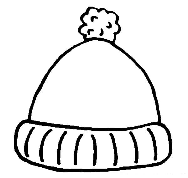 winter hat coloring page winter hat coloring pages at getcoloringscom free coloring page hat winter